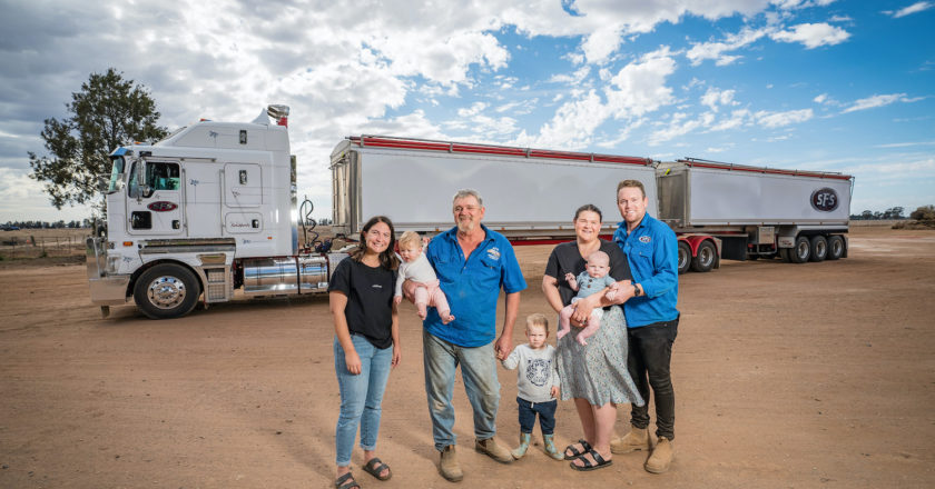 building a farming and trucking business