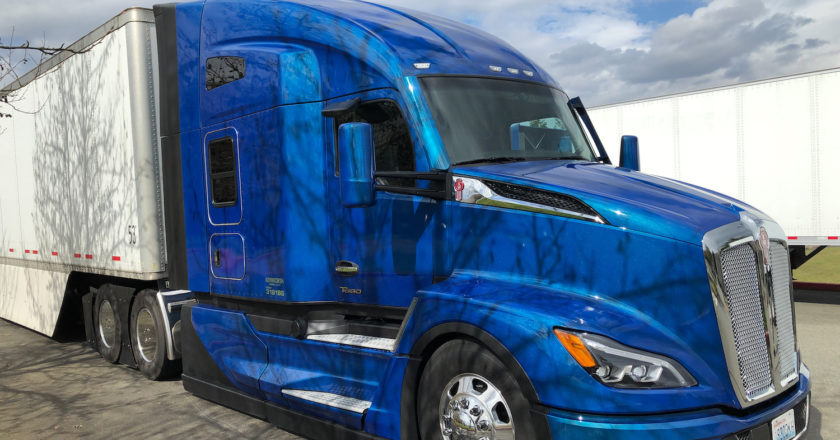 driving the new Kenworth T680 Next Generation