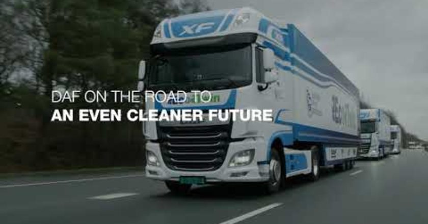 DAF is actively exploring and testing hydrogen