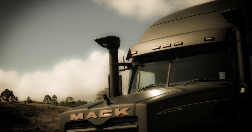 Mack in black
