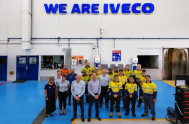 state-of-the-art dealership for Iveco in Brisbane