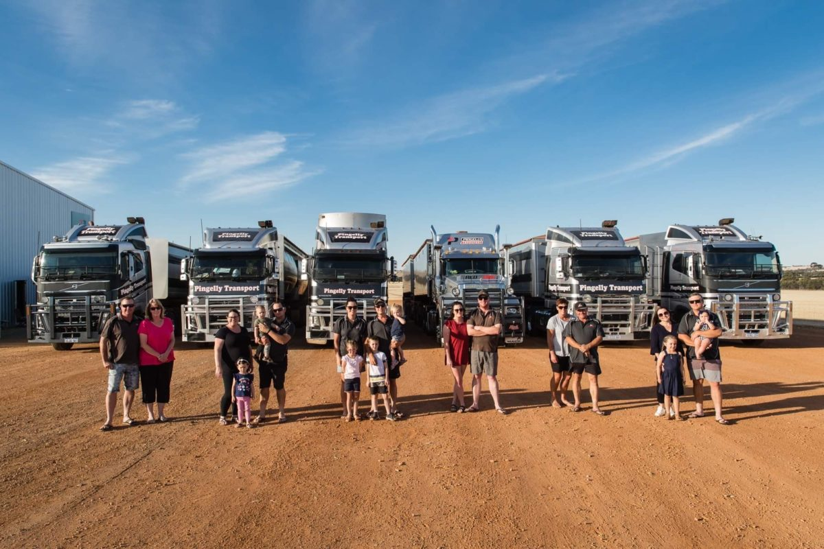 How family owned Pingelly Transport quit the guessing game about their business