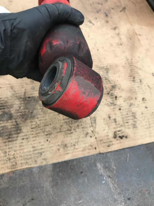 assessing shock absorbers for leaks