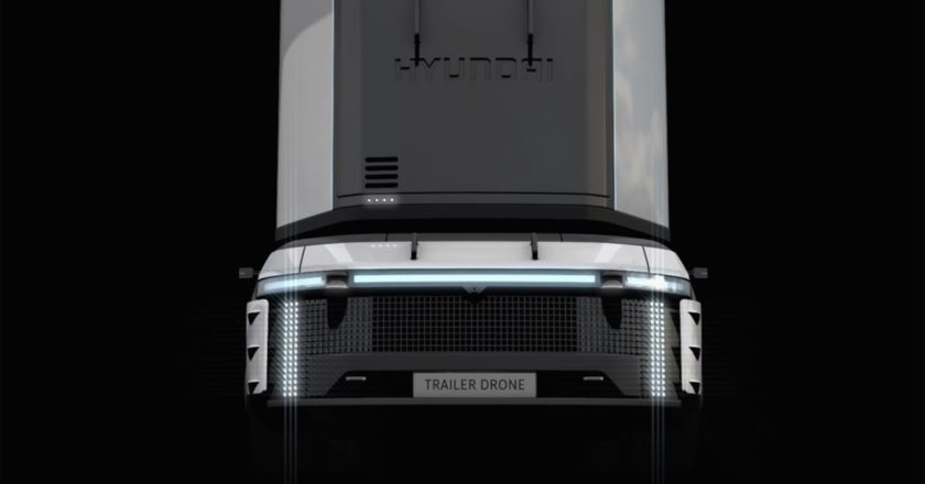 smart Trailer Drone concept
